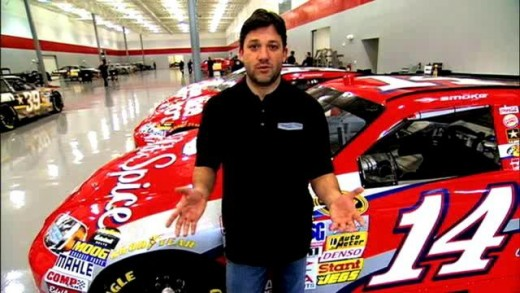 Publicly, Tony Stewart is the face of SHR