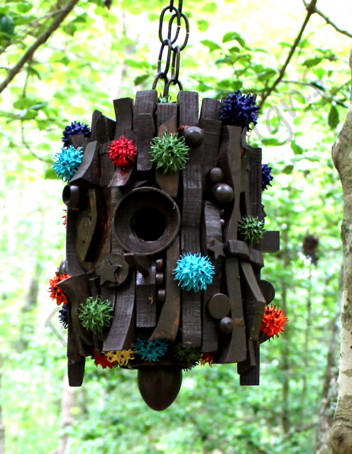 Make unique birdhouses hubpages for Types of birdhouses