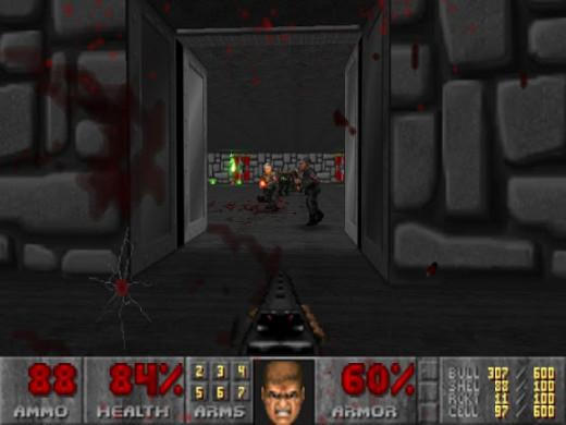 The new Nazi SS soldiers in the one secret level of Doom II.