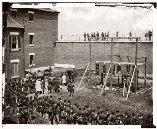 Lincoln Conspirators Hung
