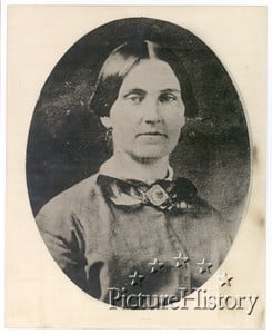 Mary Surratt who was one of the Lincoln Conspirators