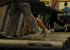 Treadmill running is a great alternative for rainy or cold days.