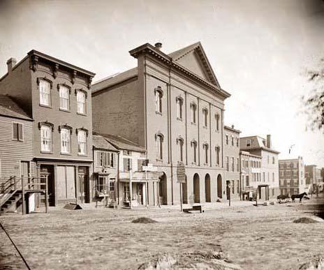 Fords Theater About The Time Of Lincolns Assassination