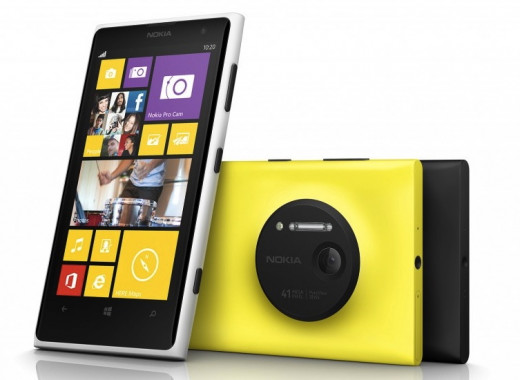 Nokia Lumia 1020 and its impressive 41MP camera sensor