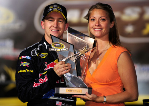 He won the Sprint Showdown and made NASCAR's All Star Race while with Red Bull