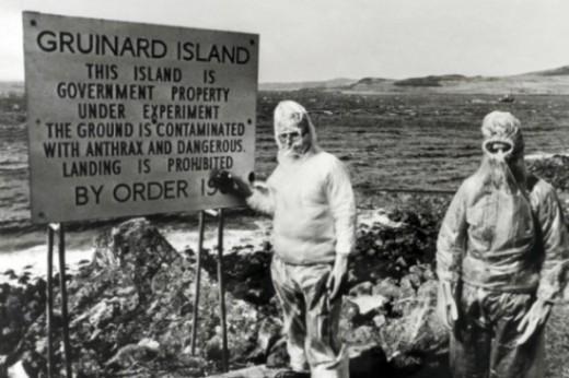Gruinard Island - anthrax experiment