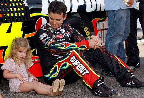 The clock is ticking on Jeff Gordon's Drive for Five