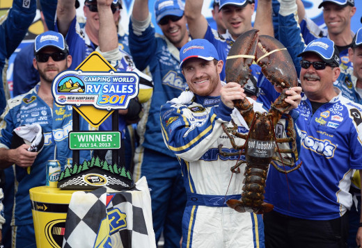 Vickers won earlier this year in New Hampshire. Can he redeem MWR with a win on Sunday?