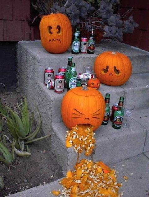 Happy Halloween the morning after. Is it like paying for a case of influenza?