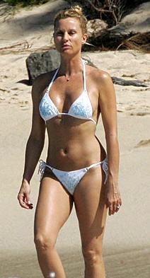 Nicollette Sheridan in bikini pic