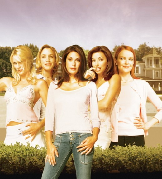 Nicollette Sheridan in Desperate Housewives