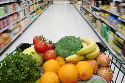 Grocery shopping the efficient way is a big accomplishment and saves you time.