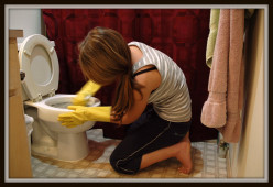 Heavy house cleaning can burn as many calories as biking in one hour.