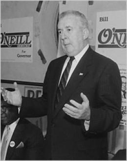 Connecticut Governor William A. O'Neill