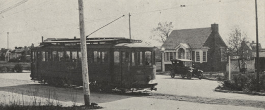 In June 1921, a new terminus was added to the Upper Arlington streetcar line at Miller Park. Today, it is a branch of the UA library.