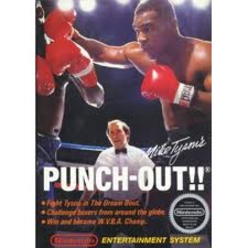 Mike Tyson appeared in a Nintendo advertisement to help launch the video game entitled Mike Tyson's Punch Out.