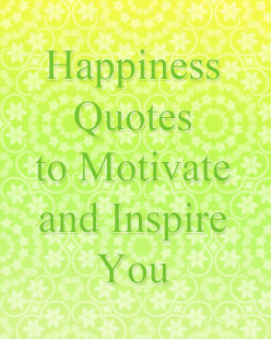 Happiness Quote Images for Motivation