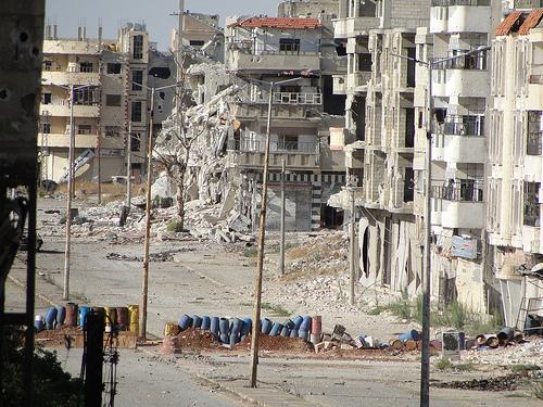 Destruction from Syrian Revolution Memory... flickr.com