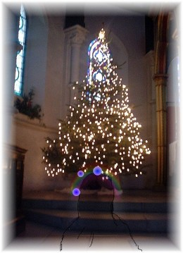 Ghosts at Christmas are sometimes found in churches. Other ghosts heard are carol singers and even invisible bells.