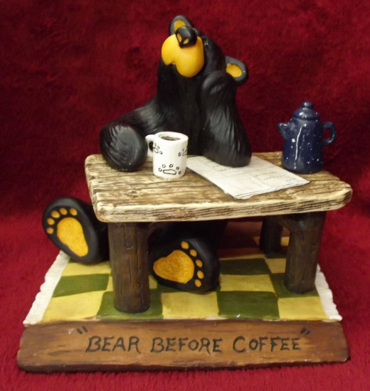 Bearfoots Figurine