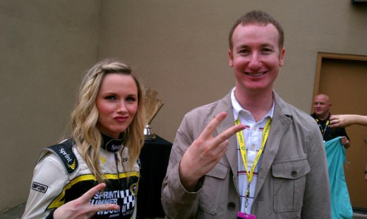 Jeff Gluck of USA Today is an entertaining read both on USA Today's site and on twitter