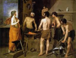 Hephaestus at the Forge