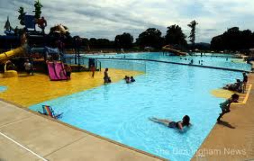 Spring Valley Beach has a two acre swimming pool.