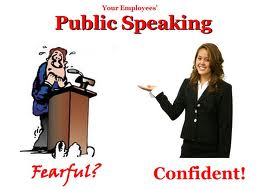 But there is no quick fix for becoming an excellent public speaker.  It is a lifelong project.