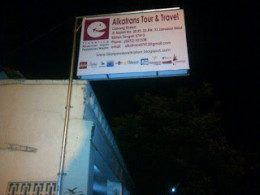 Neon Box Alkatrans Tour & Travel Klaten Branch. Neon Box's existence, are meant to be known by our customers that there is.