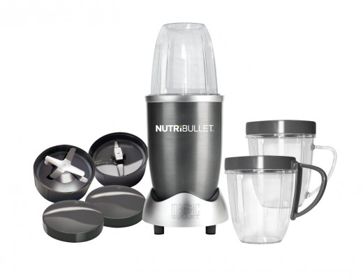 Nutri Bullet NBR 12 12-Piece Hi Speed Blender System