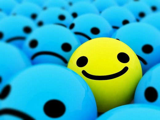 Hope and Optimism can keep a smile on your face!