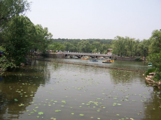 Bridge in the Imperial Summer Resort