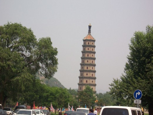 Another historic pagoda at the Imperial Summer Resort