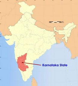 Karnataka State in India