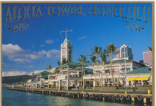 Aloha Tower, Honolulu, Hawai'i