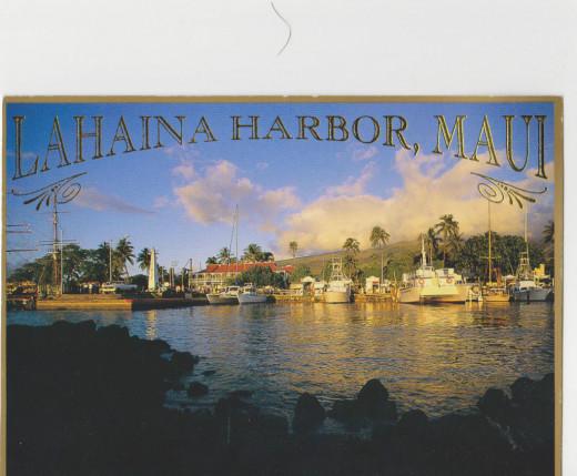 Lahaina Harbor, Maui, Hawai'i