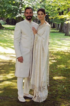 Kendra Spears weds Prince Rahim in a fariytale wedding