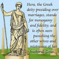 Hera, Goddess of Marriage and Commitments