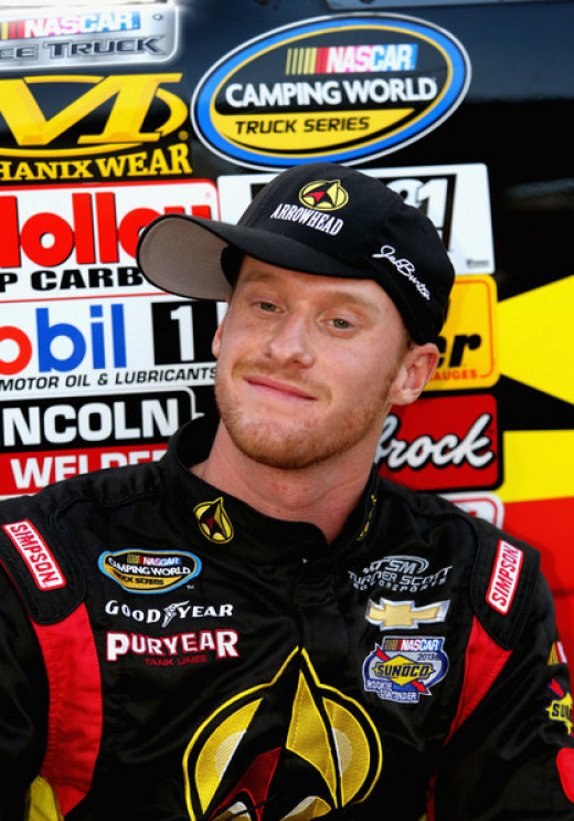 Jeb Burton is a Truck series contender right now