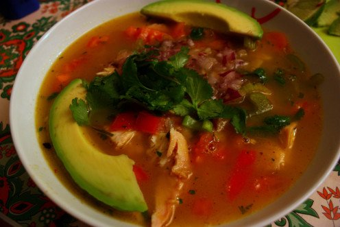 Tortilla soup.