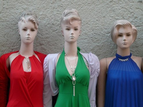 An Internship in Fashion Design can be interesting. An intern could design mannequins to look less like a police lineup.
