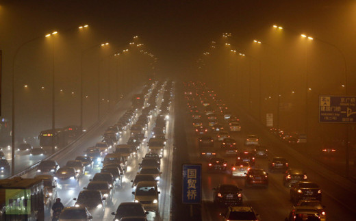 Here are many of the culprits that contribute to brown haze and brown clouds. The impact is global in extent. Beijing depicted here, often has dimming of sunlight of 24%.