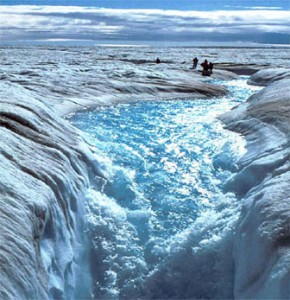 Due to the addition of carbon dioxide, methane and other greenhouse gases, the Arctic and Antarctic are experiencing an ice meltdown.