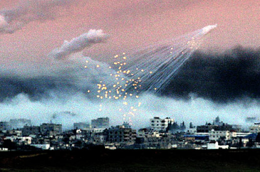 White phosphorus is being added to the atmosphere and it is extremely toxic. It will burn anything that is moist and there is no way to put it out. Traces of this are everywhere.