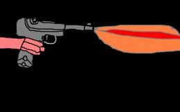 World War One handgun.
