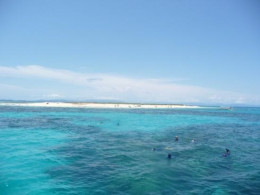 View toward Whitehaven Beach, Australia