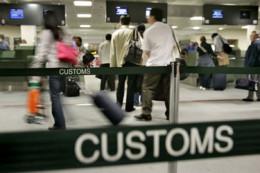 Airport Customs procedures vary.