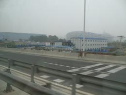 Construction of The Bird's Nest Stadium - June 2007
