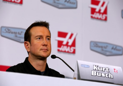 Kurt Busch will join the team next season