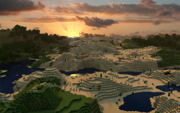 The Minecraft world is vast, as well as addicting.